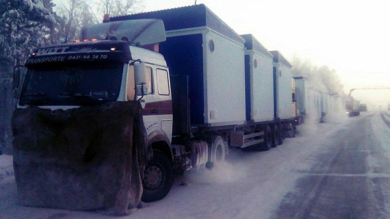 Замерзающие под Ямалом дальнобойщики рассказали о попытке МЧС нажиться на них