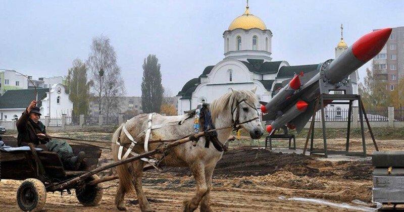 Контрасты есть везде, но в России их просто кладезь!