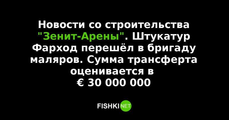 """Реакция соцсетей на строительство стадиона """"Зенит-Арена"""""""