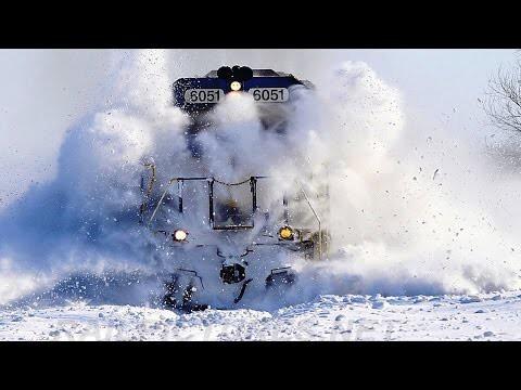 Самая крутая снегоуборочная техника