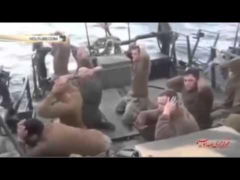 Иранские моряки поставили на колени американских морпехов