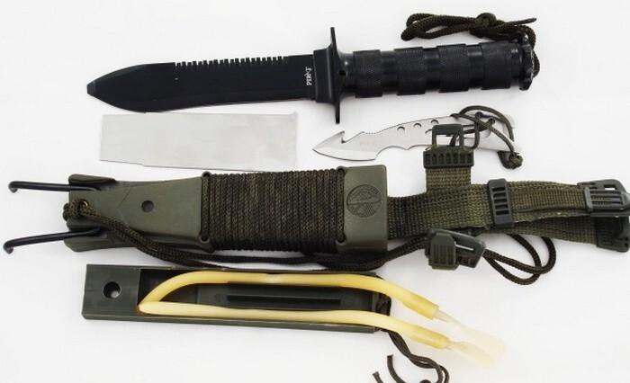 Какой нож не является оружием?