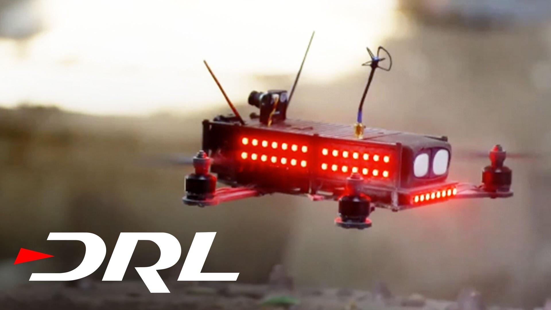 Гонки дронов становятся спортом (видео)