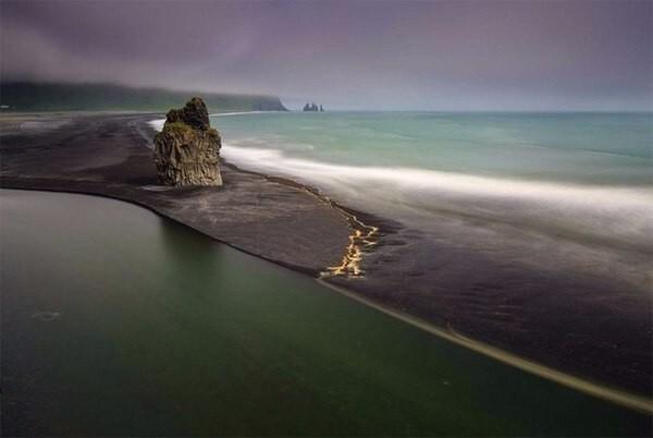 Черные пески Исландии