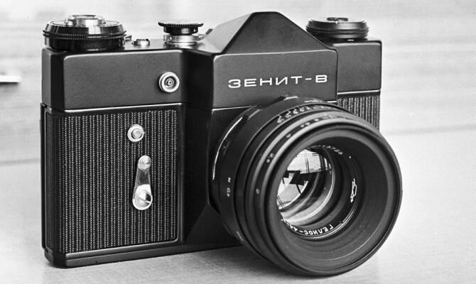 В России возродят фотоаппараты «Зенит»