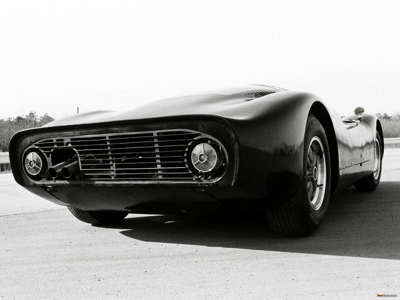 Первый японский гоночный автомобиль 60-х