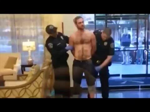 Обычный обыск при задержании в Америке