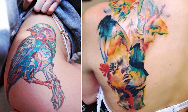 52 татуировки, которые настолько красочные, что вам тоже захочется сделать парочку