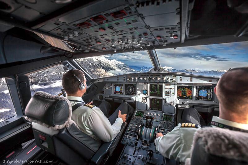 Инсбрук глазами пилота