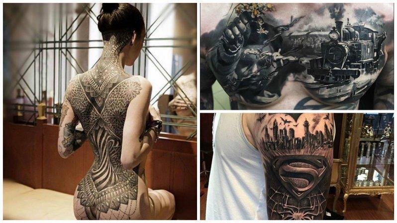 30 невероятно реалистичных татуировок