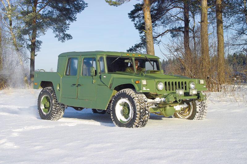 """Российский ответ """"Хаммеру"""" на базе ГАЗ-66"""