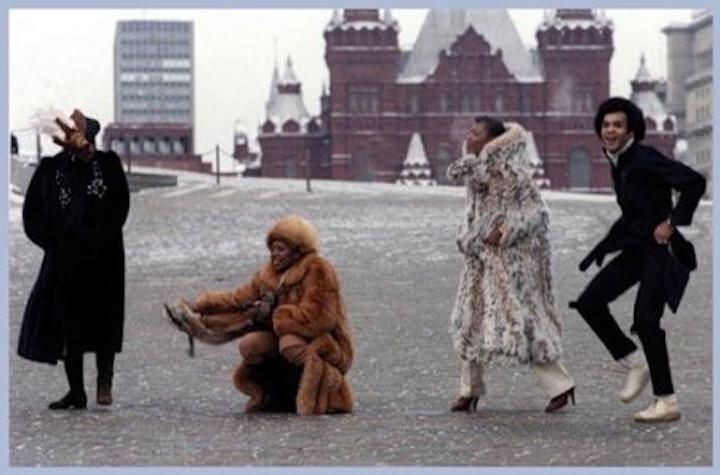 Западные звезды в СССР