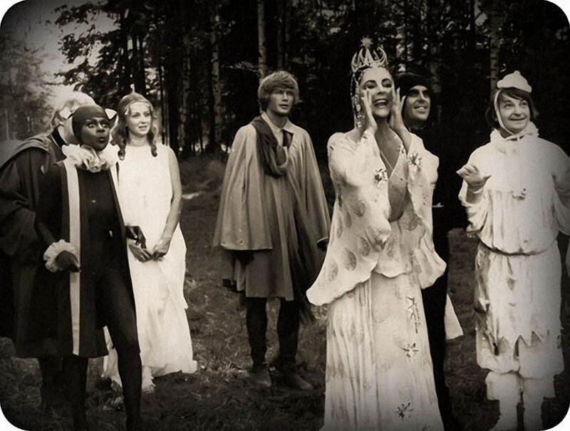 Маргарита Терехова, Элизабет Тейлор и Георгий Вицин, 1976 год