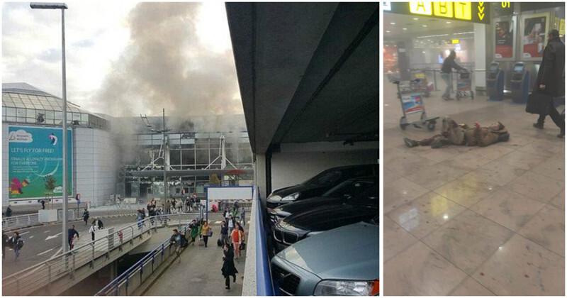 Теракты в Брюсселе: мощные взрывы прогремели в аэропорту и метро