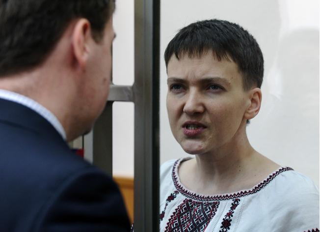Надежду Савченко приговорили к 22 годам тюрьмы