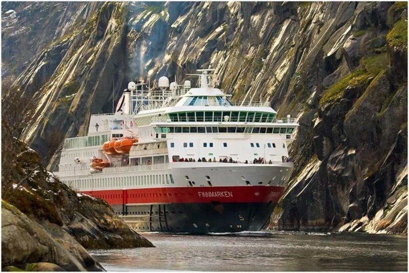Лайнеры в фьордах Норвегии
