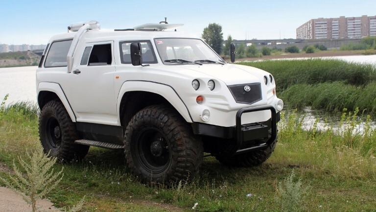 Русский вездеход-амфибия «РУСАК-3992»