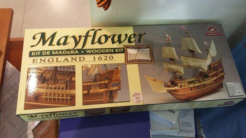 """Модель исторического парусника XVII века """"Mayflower"""" своими руками"""