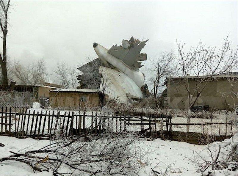 Катастрофа Боинга в Киргизии
