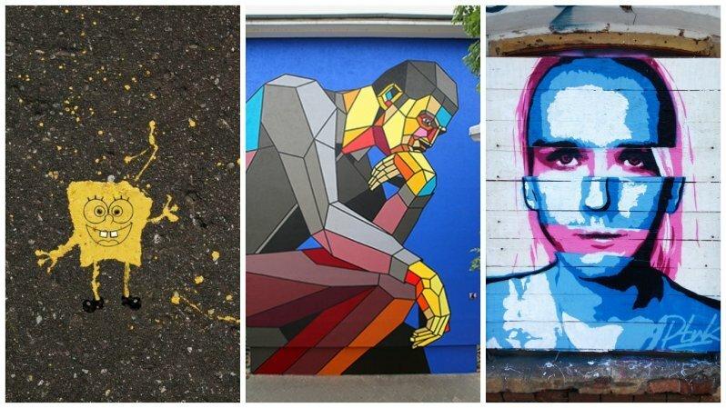 Лучшие уличные художники России