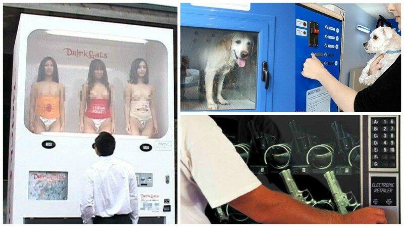 Вы удивитесь, увидев эти безумные автоматы в Японии и других странах