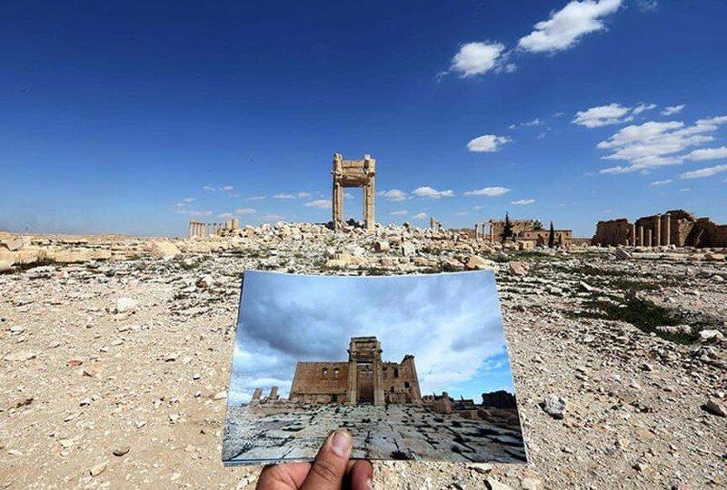 Архитектурные жертвы ИГИЛ в Пальмире