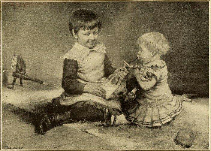 Один из детей на этой фотографии в смертельной опасности. А вы уже поняли, почему?