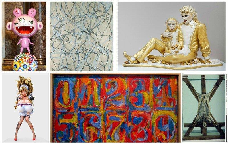 Самые богатые художники и инсталляторы современности