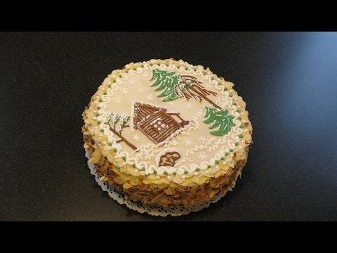 Люблю десерты - миндальный торт