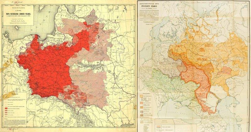 18 редких карт первой половины XX века, изучать которые можно часами