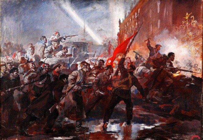 Штурм Зимнего и другие советские мифы
