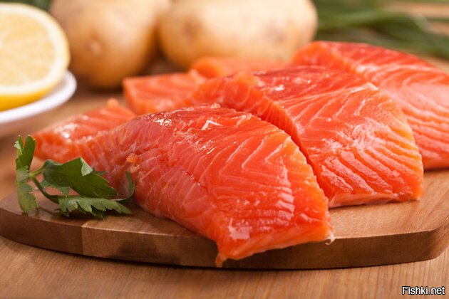 Главная ценность красной рыбы – в наличии полиненасыщенных жирных кислот омег...