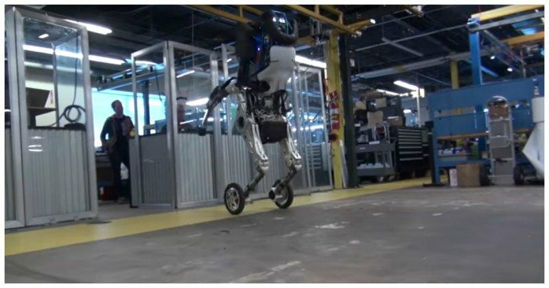 Дайте ему скейтборд, он готов! Компания Boston Dynamics показала своего нового робота