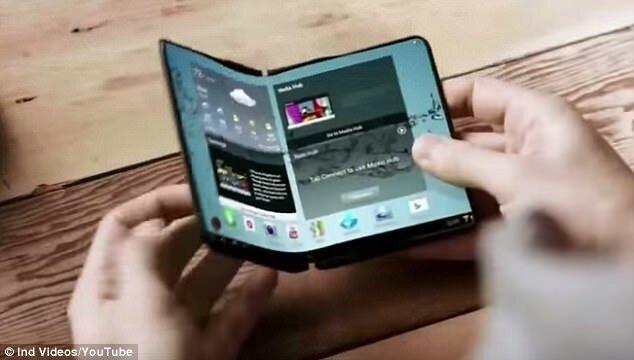 Samsung бросает вызов iPhone 8: корейцы сделали первый гибкий складной смартфон