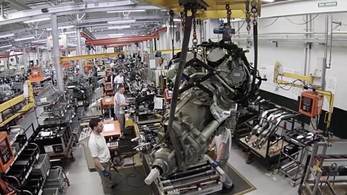 Изготовление двигателей Бентли