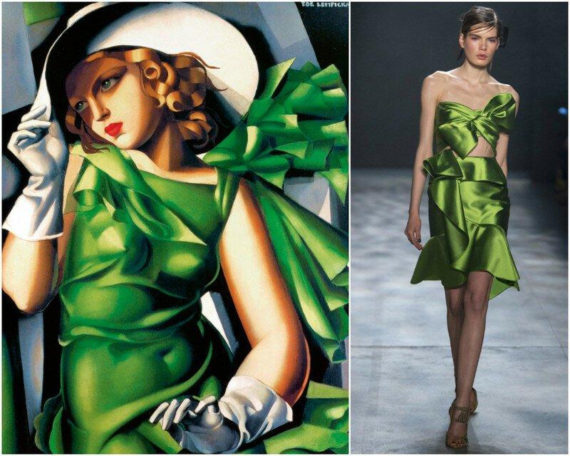 Мудборд: платья, как с легендарных картин