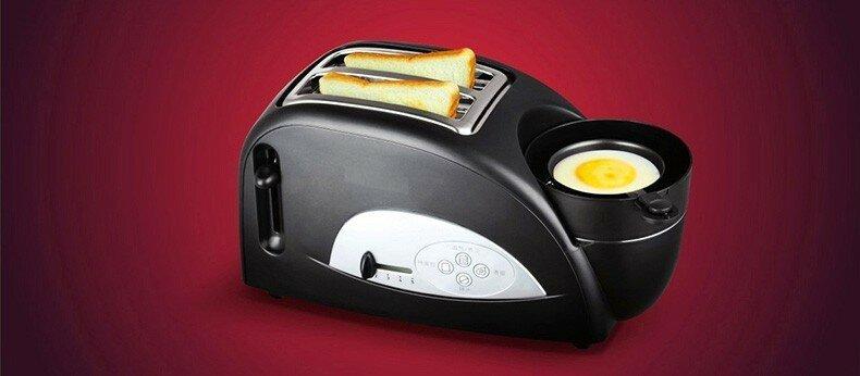 Мини-тостер и плита