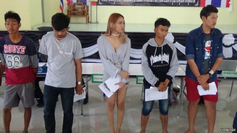 Призывная компания в армию Таиланда