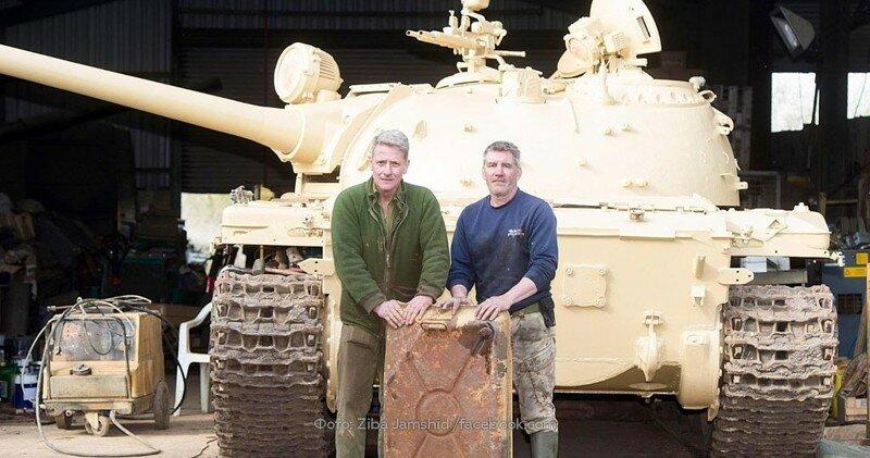 Британец нашел в советском танке Т-54 золотые слитки на $2,5 миллиона