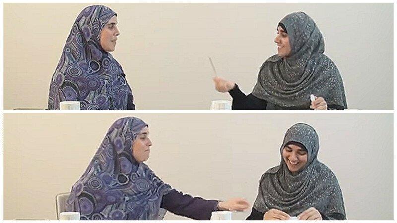 Мусульманки демонстрируют на видео, как правильно бить жену