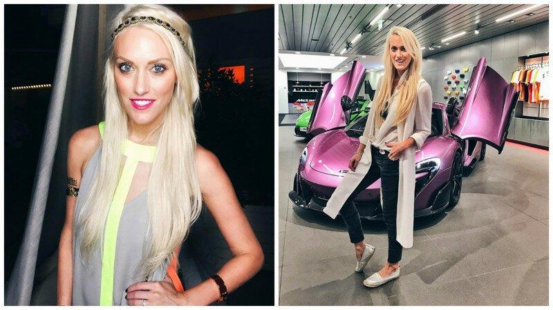 """Блондинка на суперкаре: из австралийской глубинки - в """"Богатые детки Дубая"""""""