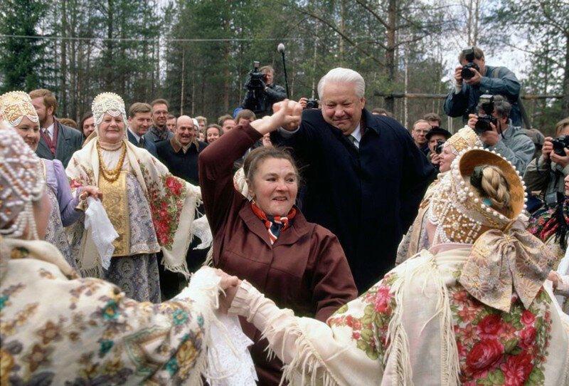 Машина Времени. Россия, выборы 1996