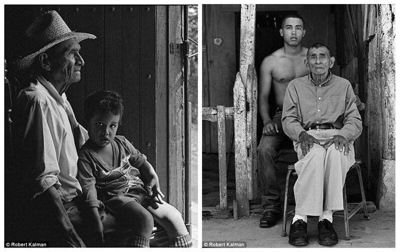 Фотограф вернулся в маленький городок через 20 лет и воссоздал портреты его жителей