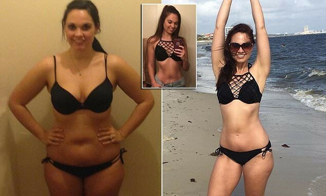 Питьевая вода помогла девушке похудеть на 20 килограмм