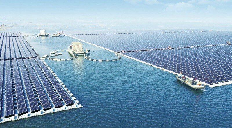 В Китае заработала крупнейшая в мире плавучая солнечная электростанция