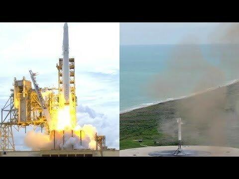 SpaceX запустила Falcon 9 с грузовиком Dragon к МКС