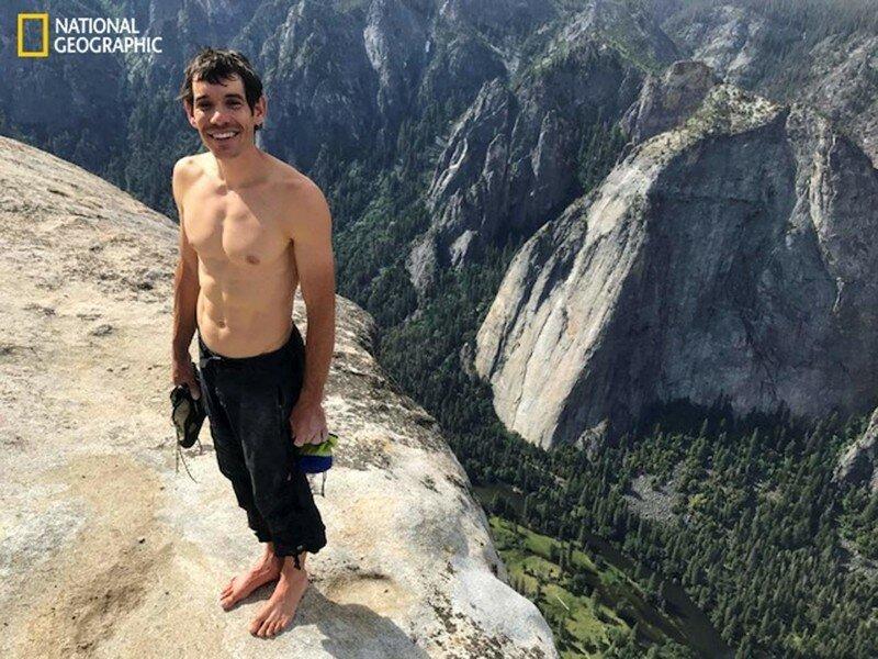 Первый человек, покоривший гору Эль-Капитан без страховки