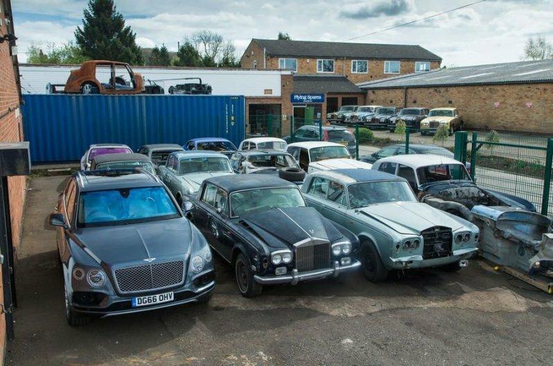 Место, где умирают роскошные английские автомобили