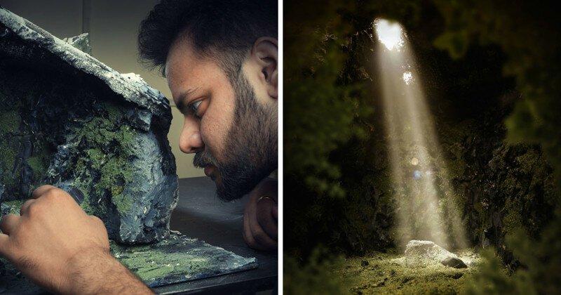 Фотограф воссоздает фантастические места из собственных снов