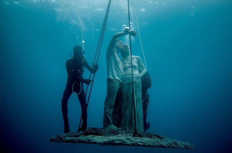 Museo Atlantico: захватывающий подводный музей